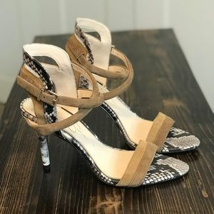 New! | Jessica Simpson Strapped Heels | Size 6 |